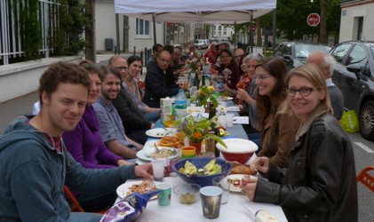 Repas des voisins 2014