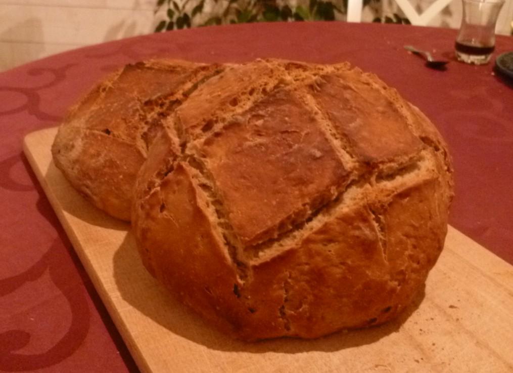 Recette de pain au levain naturel